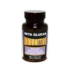 IMMUNITION NSC Milk Thistle with MG Beta Glucan 180