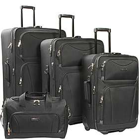 Travel Gear Galaxy 4 Piece Luggage Set