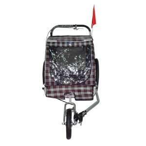 Convertible Pet Bike Trailer & Jogging Stroller Pet