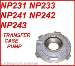 NP231 NP233 NP241 NP243 TRANSFER CASE OIL PUMP
