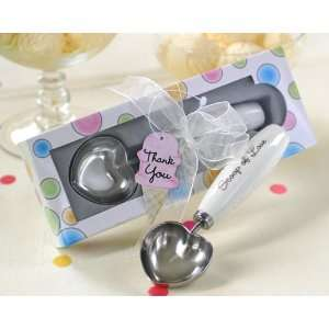 Ice Cream Scoop Scoop of Love Heart Shaped in Parlor Gift Box (24 per
