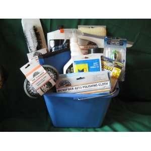 Car Wash Gift Basket Easter Gift Basket Car Wash Supplies