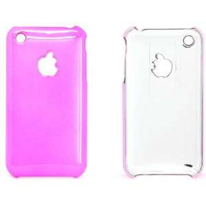 Chrome Series for Apple Iphone 3g 3gs Hard Cover Case Pink