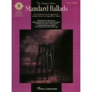 Standard Ballads   Womens Edition   Voice Songbook and CD