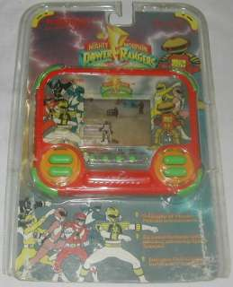 Tiger Electronics LCD Game Mighty Morphin Power Rangers 1994