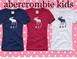 ABERCROMBIE KIDS GIRLS SHIRTS TOP GRAPHIC TEES NEW NWT AUTHENTIC 2012