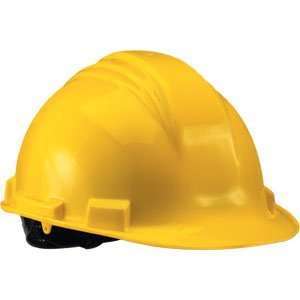 White Hard Hat with Accessory Slots Home Improvement