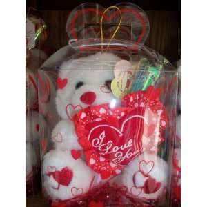 I LOVE YOU Teddy Bear Toys & Games