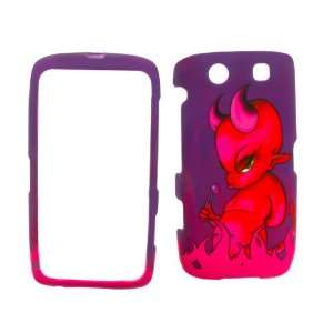 BLACKBERRY TOURCH 9850 / 9860 EVIL GIRL COVER CASE Hard Case/Cover