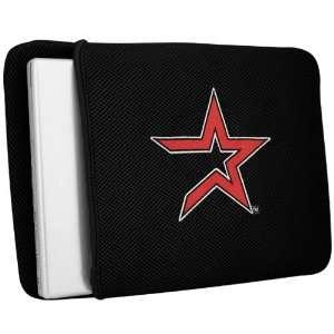 Houston Astros Black Mesh Laptop Cover