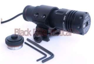 Tactical BLACK WIDOW Green Laser Sight W/ Pressure Switch Picatinny