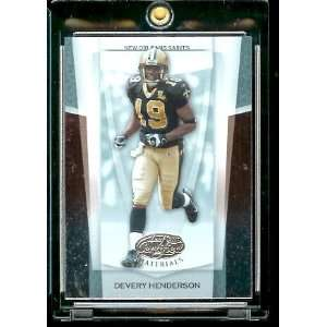 Devery Henderson   New Orleans Saints   NFL Trading Card Sports