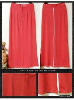 waist Full length Maxi Long Solids Skirt Dresses Casual 4294