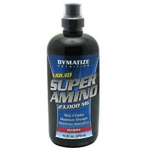 Super Amino 23000 mg, Berry, 16 fl oz (473 ml)