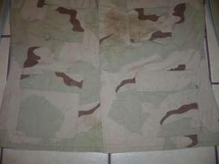 Military DCU Camo Cargo Shirt ARMY USAF Large Reg 3Color Men Boys