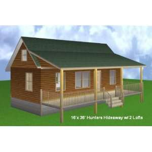 20x40 House Floor Plans in addition 16x36 Cabin Photos further Small ...
