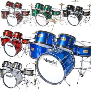 Mendini 5 Pcs Junior Child Drum Set +Cymbal+DVD Lesson