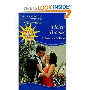 Boss in a Million (Presents) (9780263817799) Helen Brooks Books