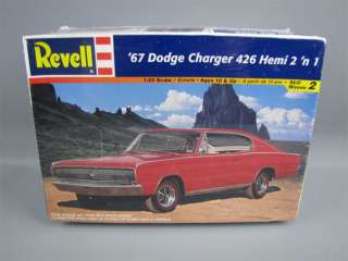 Revell 1967 Dodge Charger 426 Hemi Model Kit MIB Sealed