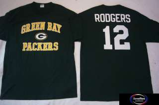 Packers AARON RODGERS Football Jersey Shirt GRN XXL