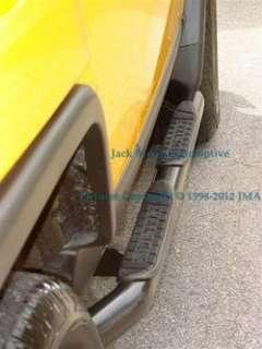 07 11 Toyota FJ Cruiser BLACK Side Steps Nerf Bars