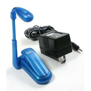 Mighty Bright Mini Book Light with Super LED Kit (w/AC Adaptor)   Blue