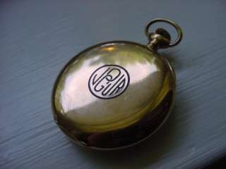 Antique Vacheron & Constantin Pocket Watch 14k Gold 17J