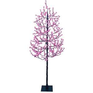 7.5 Enchanted Garden LED Lighted Cherry Blossom Flower