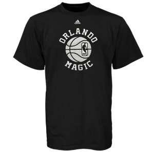 adidas Orlando Magic Black Off Season T shirt  Sports
