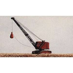 BANTAM DRAGLINE CRANE & WRECKING BALL   RAILWAY EXPRESS