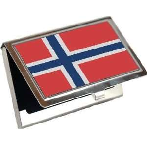 Norway Flag Business Card Holder