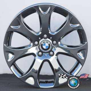 07 11 BMW X5 Factory 19 Wheels OEM Rims Black PVD Outright or Exchange
