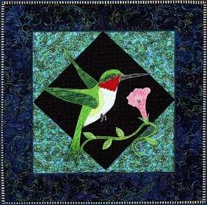 Birds Applique Block BOM Zebra 12 Quilt Pattern Set NEW