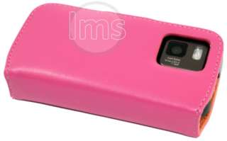 London Magic Store   H PINK LEATHER WALLET CASE II FOR NOKIA N97 MINI