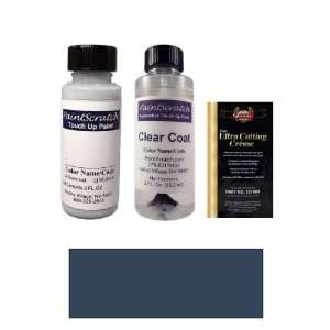 Blue Metallic Paint Bottle Kit for 2012 Audi TT (LX5Q/S9): Automotive