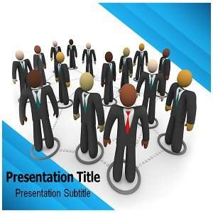 Social Business Powerpoint Template   Social Business Powerpoint (PPT