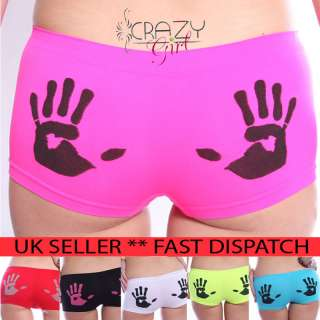 Womens/Girls/Ladies Pants Brief Boxer Shorts Underwear Boxers 6/8/10