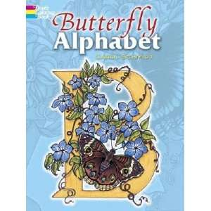 Alphabet Coloring Book [COLOR BK BUTTERFLY ALPHABET CO] Books