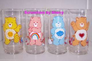 Care Bears Pizza Hut Collector Glasses Limited Editio