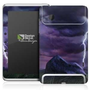 Design Skins for HTC Flyer   Purple Lightning Design Folie