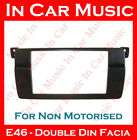 BMW 3 Series E46 Double Din Fascia Bezel Facia Adaptor