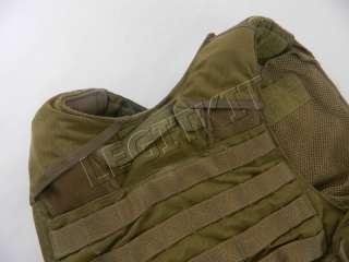 Carrier Armor Vest MEDIUM *USA Made* Khaki MAR CIRAS MOLLE