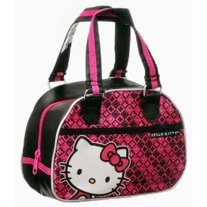 Sanrio Hello Kitty Black/ Hot Pink Purse/ Tote/ Bag