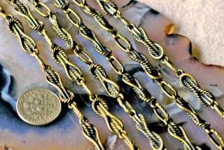 Antique Bronze Plated Brass Chain Tibetan Silver Chain For Necklace