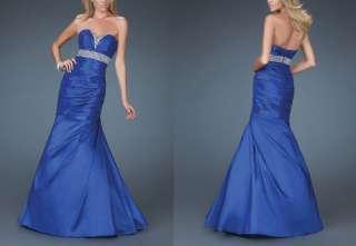 Mermaid Strapless Sweetheart Floor length Taffeta Wedding/Prom Dress