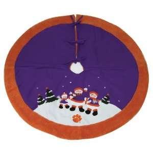 OFFICIAL TEAM LOGO 48 SNOWMAN CHRISTMAS TREE SKIRT