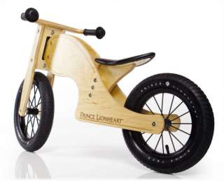 Prince Lionheart Kids Wooden Balance Bike Bicycle Chop