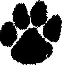 Small Paw Print Stickers ~ Cat or Dog ~