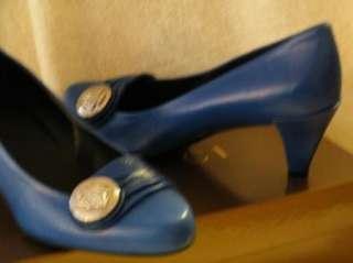 GUCCI SHOES SANDALS BOOTS flats HEELS BLUE