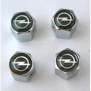 Opel Anti theft Car Wheel Tire Valve Stem Caps Automotive